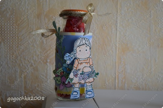 бутылочка с кофетами фото 1