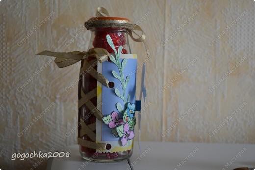 бутылочка с кофетами фото 2