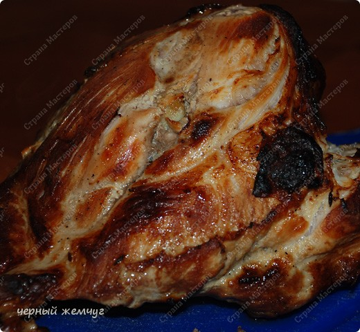 Свинина запеченная в пиве фото 3