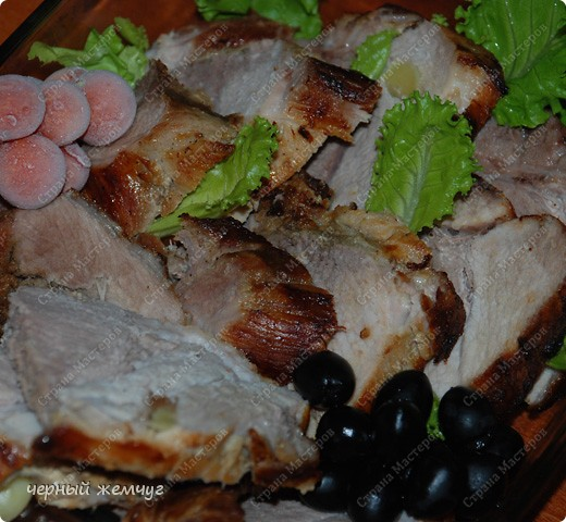 Свинина запеченная в пиве фото 7