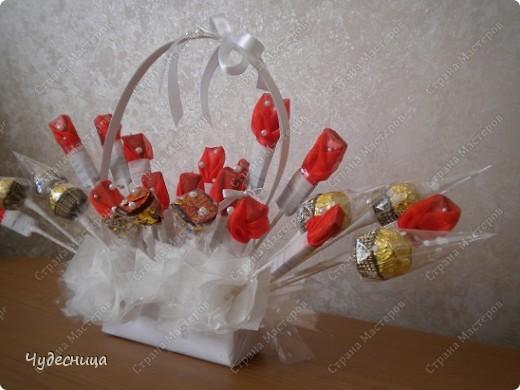 Букет из конфет фото 2