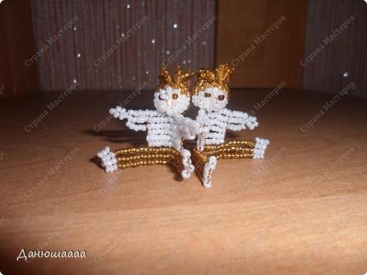 Знак зодиака близнецы!!!Сдела их  по брошуре из набора Знаки Зодиака! http://stranamasterov.ru/node/227714 здесь мои знаки зодиака-скорпион,весы,козерог! фото 1