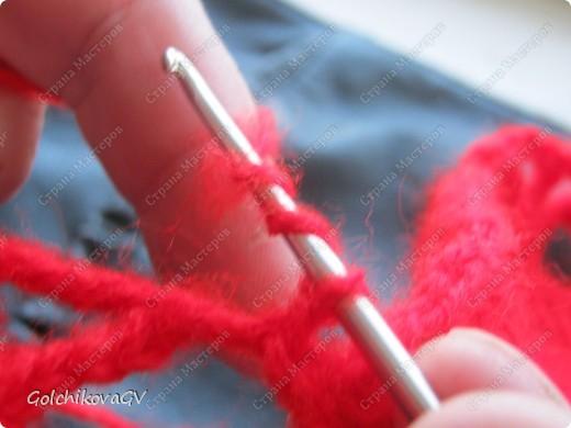Вот и я закончила свой шарф. Мне,как всегда,  хочется чего-то своего, вот и намудрила. фото 10
