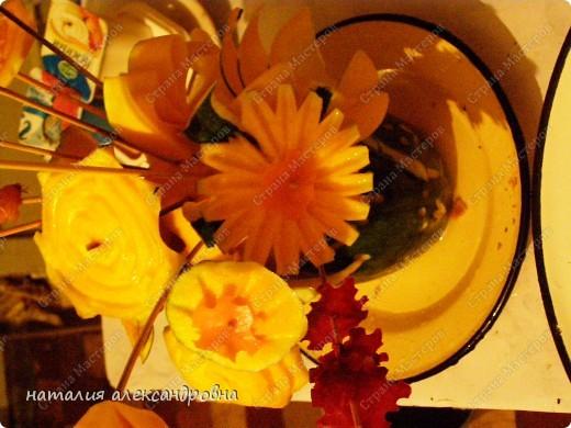 такая ромашка (хотя какая же она ромашка, если желтая?!) тыква+морковь фото 11