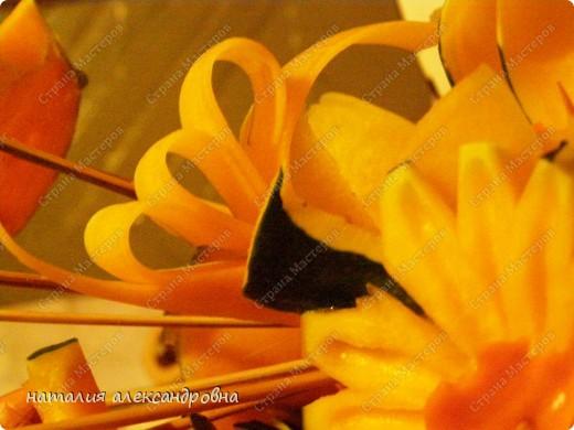 такая ромашка (хотя какая же она ромашка, если желтая?!) тыква+морковь фото 3