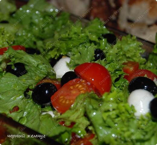 Салат с сыром Моццарелла фото 4