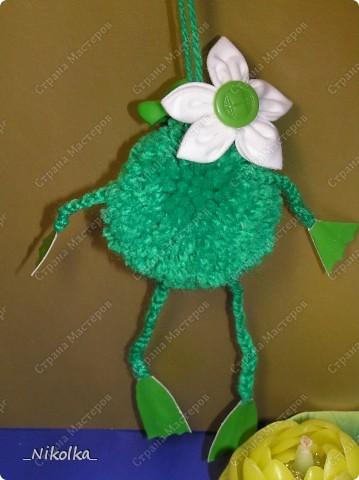 Вот такую лягушку Красочку мы сделали с дочкой. фото 3