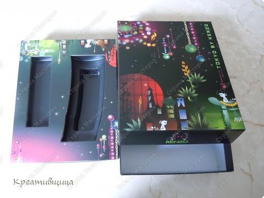 Вот такую коробочку для ниточек и иголочек я сегодня сделала))) А как давно собиралась))))... фото 2