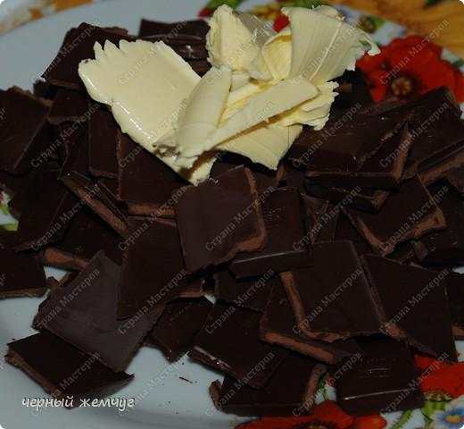 """Шоколадно-блинный торт с кремом """"Ганаш"""" фото 8"""