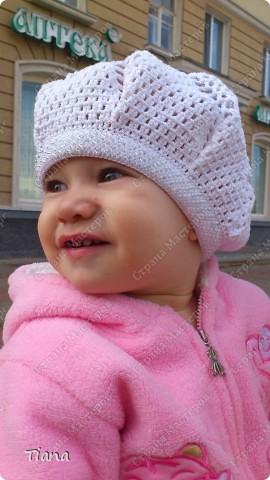 Вот так выглядит беретик на дочке. фото 1