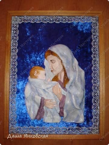Мария с младенцем...