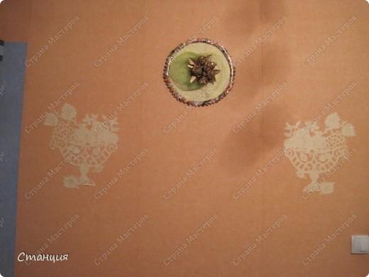 Привет Стране! Я сегодня со своим панно из любимых кленовых роз. Оно у меня давно висит, делала еще для своего юбилея, чтоб пустые места в комнате немного скрасить. Лялька тогда была махонькой совсем, и меня хватило только на вариант на втором фото. фото 3