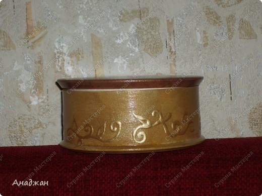 """Панно """"Корзина изобилия"""" Основа дерево, салфетка, подрисовка акриловыми красками, пастель. 2-х шаговый кракелюр, затирка золото. фото 8"""