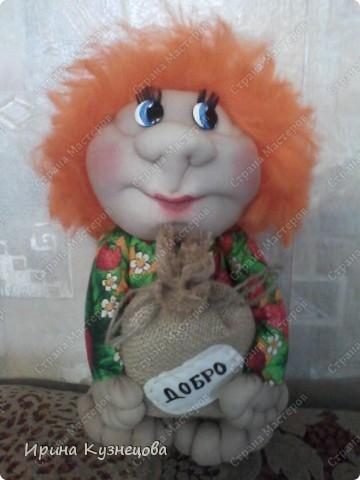 Попросили сделать домовёнка,рыжего,как Мафаня))) фото 1