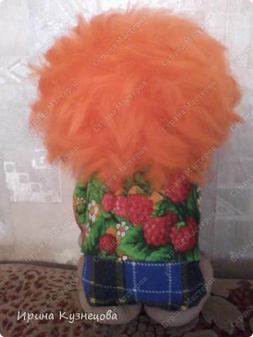 Попросили сделать домовёнка,рыжего,как Мафаня))) фото 2