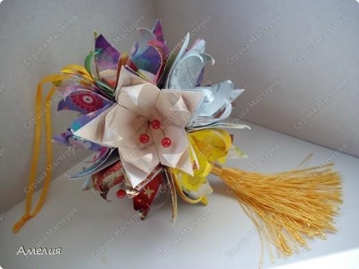 Кусудама Fleur-de-Lis фото 1