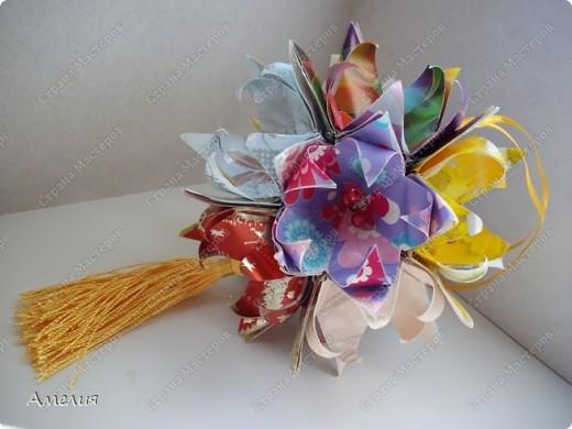 Кусудама Fleur-de-Lis фото 2