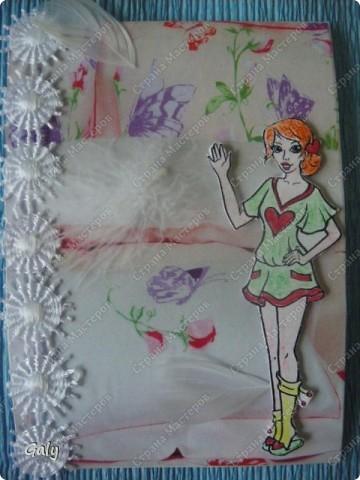 Вот такую серию навеяла мне детская раскраска... фото 5