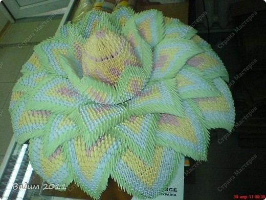 Лилия - модульное оригами фото 3