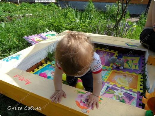 песочница для дочки