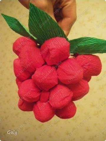 Моей подруге и коллеге по работе этой весной исполнилось 45 лет. А ведь говорят, что в 45 - баба ягодка опять. Ну и решила я сотворить для Иришки сладкую-пресладкую ягодку-малинку... фото 1