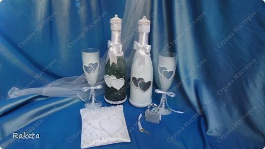 Одна моя приятельница  заказала мне свадебный набор для своей подруги из Волгограда.  фото 1
