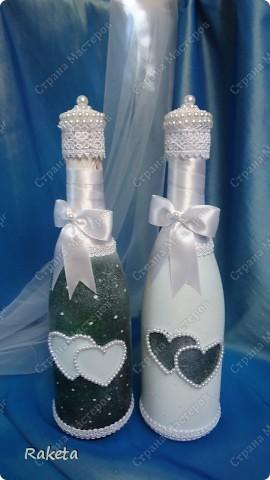 Одна моя приятельница  заказала мне свадебный набор для своей подруги из Волгограда.  фото 2