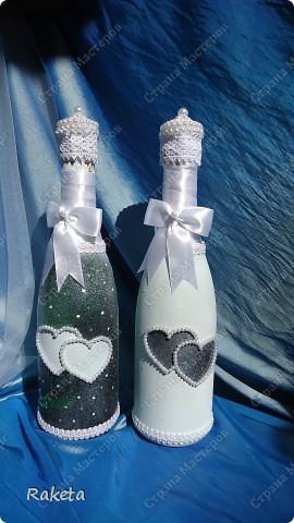 Одна моя приятельница  заказала мне свадебный набор для своей подруги из Волгограда.  фото 15