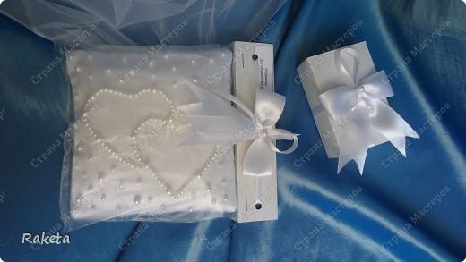 Одна моя приятельница  заказала мне свадебный набор для своей подруги из Волгограда.  фото 17