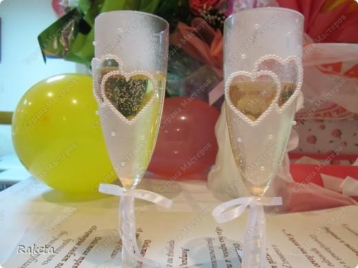 Одна моя приятельница  заказала мне свадебный набор для своей подруги из Волгограда.  фото 18
