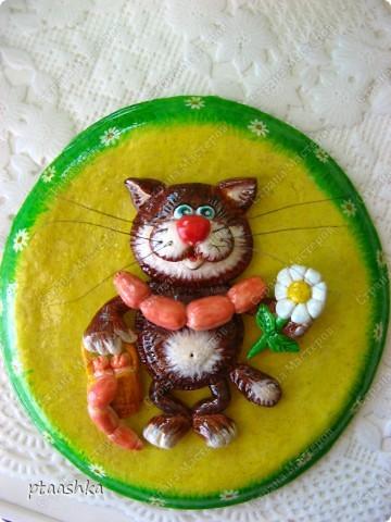 Это мои первые котики, сделаны из самозатвердевающей массы, насмотрелась на работы Марины Архиповой (спасибо ей большое !!!!!!)  фото 2