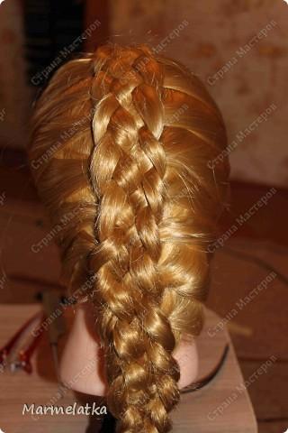 Коса из 5-ти прядей
