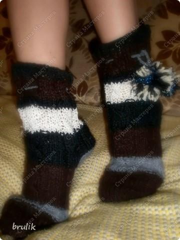 Носки с подошвой для дома фото 2