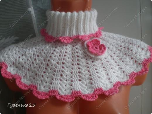 Манишка для принцесски! фото 1