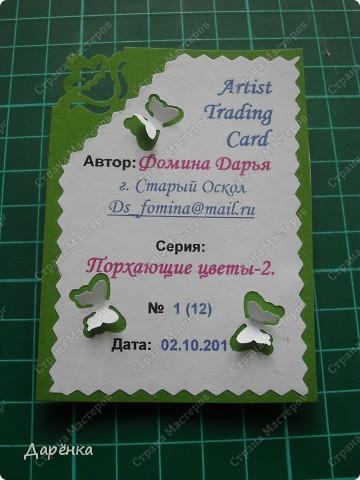 Сделала еще партию карточек с бабочками.  Приглашаю кредиторов, taivis, ШМыГа, Sjusen.   фото 15