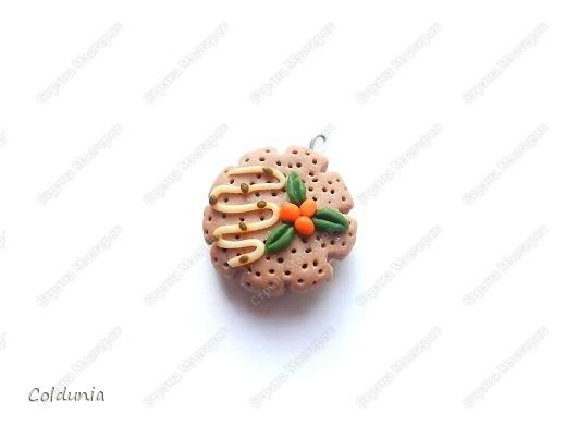 кулончик-вафелька) фото 1