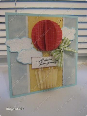 Увидела на этом сайте http://agnieszka-scrappassion.blogspot.com/search/label/dla%20dzieci замечательные  детские открытки, не смогла устоять, чтоб не сделать себе подобную прелесть) фото 2