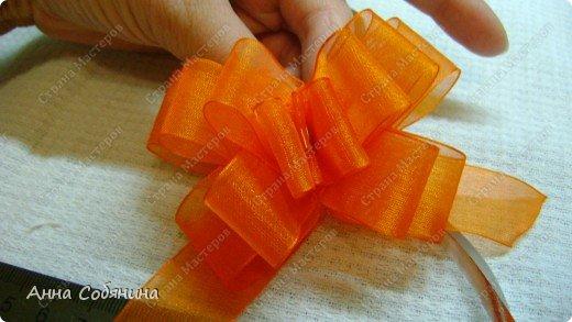 Красивые упаковочные бантики своими руками будут отличным дополнением к вашему подарку. И не нужно идти в магазин) фото 18