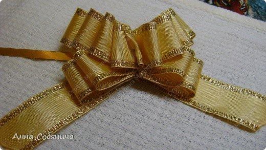 Красивые упаковочные бантики своими руками будут отличным дополнением к вашему подарку. И не нужно идти в магазин) фото 19
