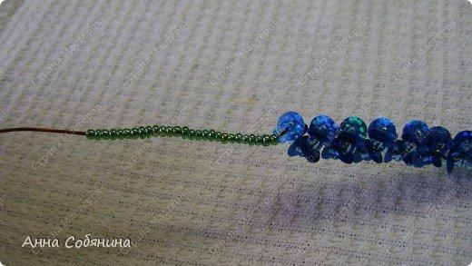 Цветы из пайеток. Вот такие цветочки можно использовать как самостоятельный букет или добавлять в готовую композицию для украшения. фото 16