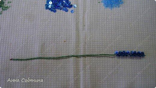Цветы из пайеток. Вот такие цветочки можно использовать как самостоятельный букет или добавлять в готовую композицию для украшения. фото 19
