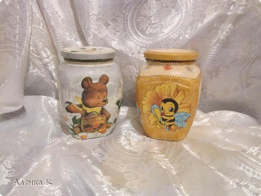"""Вот такие баночки для меда, у меня """"созрели""""... фото 1"""