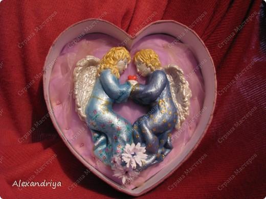 Ангелочки с сердцем.  фото 1