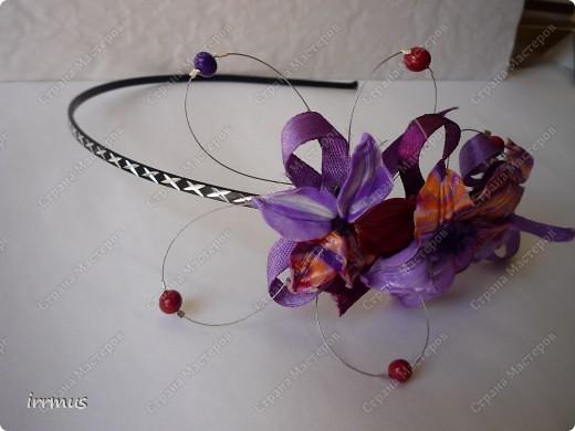 лепные цветы поверх заколки,для скрепления промазанной перед работой и обжигом клеем ПВА фото 10