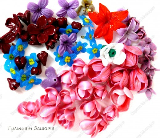 Самолепные цветочки :-) фото 1