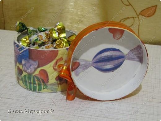 Коробочка для конфет фото 2