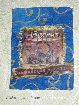 """Название серии - это и название альбома группы """"Эпидемия"""" «Эльфийская рукопись» — первая в России метал-опера и концептуальный альбом российской Power Metal группы Эпидемия, выпущенный 13 февраля 2004 года и презентованный на рок-фестивале «Пятница, 13-е». В записи принимали участие вокалисты из групп Ария, Arida Vortex, Мастер, Чёрный Обелиск и Бони НЕМ.  Полуэльф Дезмонд рос в эльфийском королевстве Эния, скрытом от остального мира волшебным барьером, который создавала магическая сфера Эль-Гилэт, принадлежавшая королю Энии, и изучал магию у придворного волшебника Ирдиса. Он влюбился в принцессу Алатиэль, и был ложно обвинен в практике чёрной магии её тайным поклонником, за что был изгнан королём, которого не устраивала увлеченность полуэльфа чистокровной эльфийкой. Дезмонд по настоянию Ирдиса продолжил обучение в школе волшебства в землях людей, и участвовал в некоторых военных походах. Во время одного из походов он как боевой маг произвел хорошее впечатление на воина Торвальда, с которым впоследствии завёл дружбу. Фактически, Торвальд был единственным человеком, не сторонившимся чужака-полуэльфа. В это время Эния была атакована силами тьмы под предводительством могущественного темного мага Деймоса. Родной мир Деймоса погиб из-за погасшего солнца. Используя сложные заклинания чёрной магии, Деймос телепортировал часть своей армии в Энию и завоевал страну. В тронном зале он нашёл сферу Эль-Гилет, магическая мощь которой могла дать ему возможность открыть портал между Энией и своим миром. Деймос предложил Алатиэль стать его женой, чтобы он стал полноправным королем эльфийских земель. Он пригрозил, что иначе он принесет её в жертву, так как для открытия врат в его мир с помощью сферы и для телепортации остальной части его армии необходимо было в особую ночь Совмещения обагрить магический амулет кровью эльфов. Но Алатиэль, не желавшая идти на уступки захватчику и убийце отца, отказалась. Ирдис был ранен во время сражения с захватчиками, но успел бежать через портал к Д"""