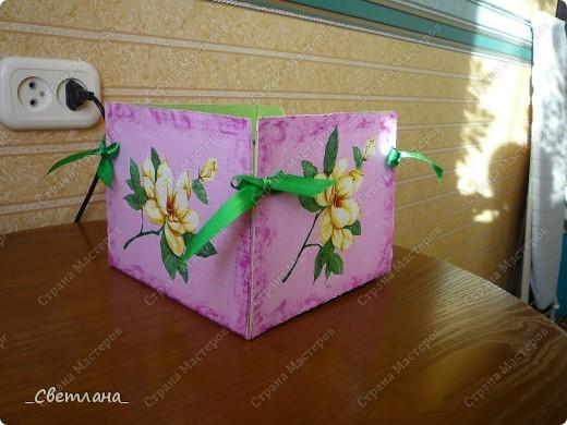 Коробка для салфеток. фото 2