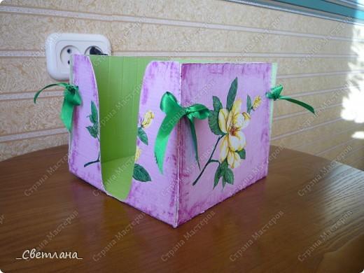 Коробка для салфеток. фото 3