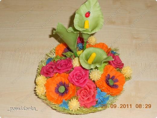 розы,маки, каллы фото 1